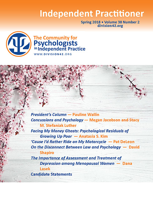 Spring 2018   Independent Practitioner